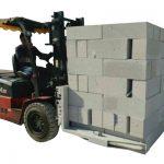 유압 지게차 콘크리트 벽돌 / 블록 리프팅 클램프