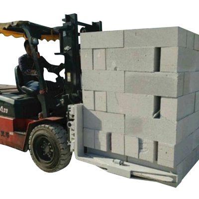 유압 지게차 콘크리트 벽돌 블록 리프팅 클램프