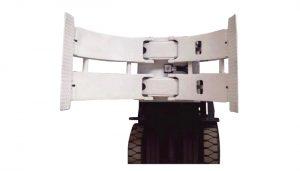 자재 운반 장비 2ton TB 시리즈 롤 팔레트 트럭 수동 팔레트 스태커 용지 롤 클램프 폴더