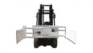 지게차가있는 큰 개방 범위 리프트 트럭 부착 베일 클램프 장비